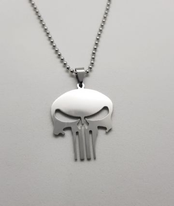 The Punisher Stainless Steel Pendant